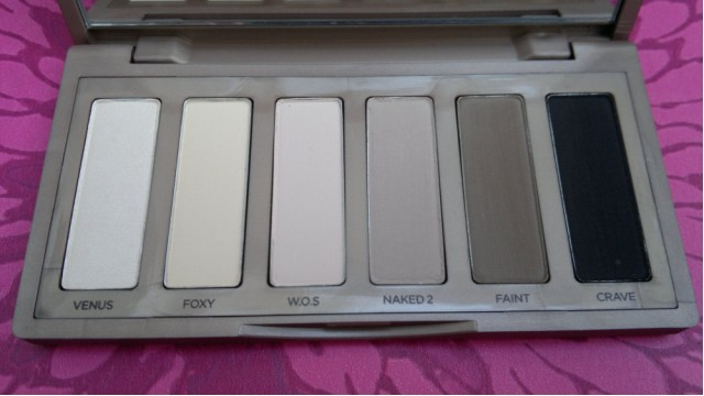 Urban Decay Naked Basics Palette | Eye Shadows