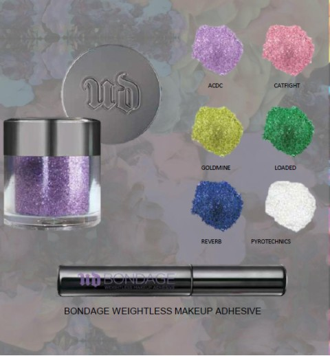 Urban Decay Glitter Eyeshadow & Glue