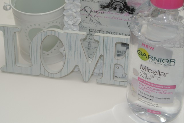 GlitZeeGlam | Garnier Micellar Cleansing Water | Review