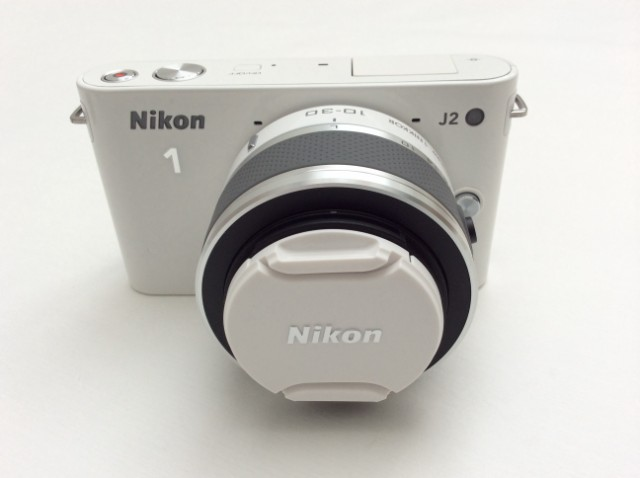 GlitZeeGlam | New Blogging Camera | Nikon 1 J2 in White