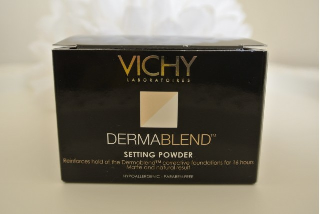 Vichy Dermablend Translucent Setting Powder | Review