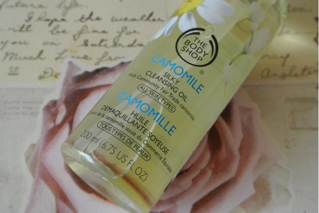 GlitZeeGlam | The Body Shop Camomile Silky Cleansing Oil | Review