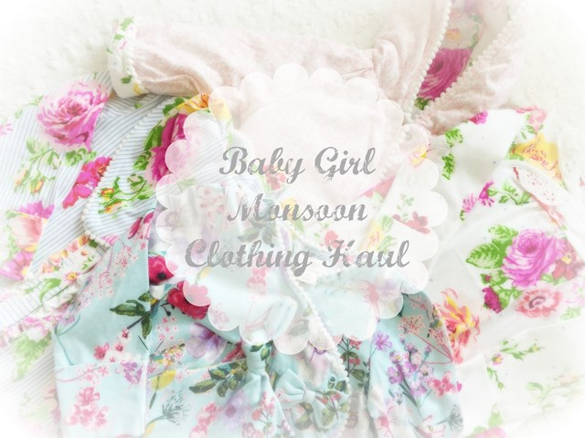 Baby Girl Haul Monsoon