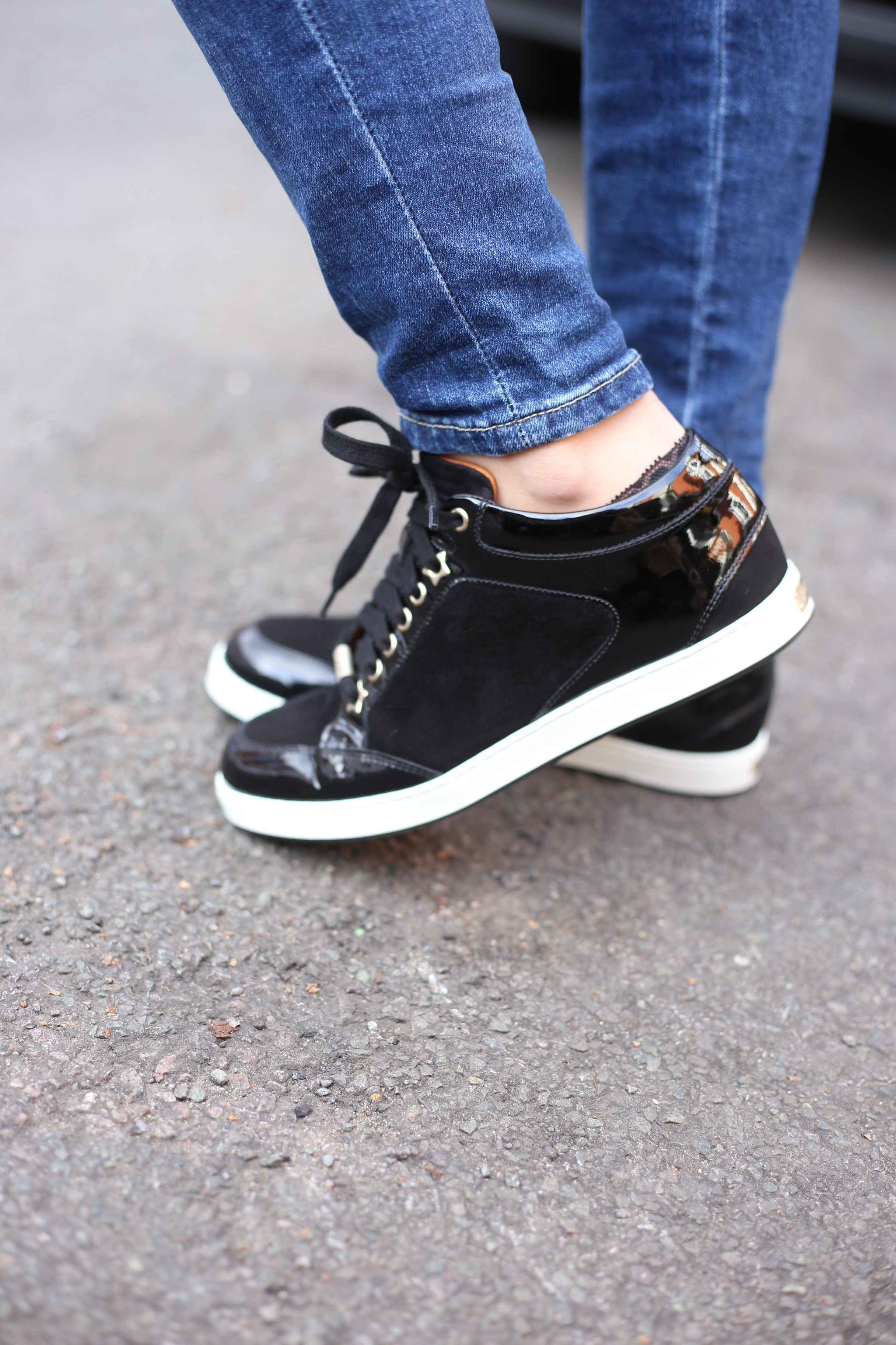 Jimmy Choo Miami Trainers | Styling and