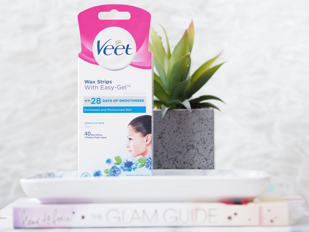 Veet Sensitive Skin Hair Removal Cream And Facial Wax Strips